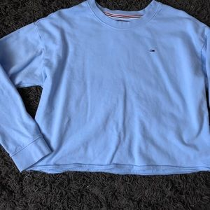Baby blue Tommy Hilfiger top
